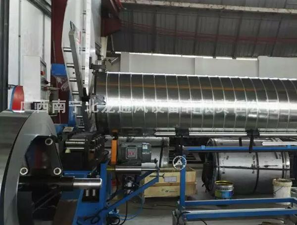 螺旋风管生产设备